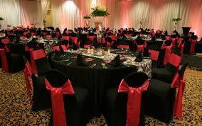 red and black valentine u0027s party ideas wedding chair covers