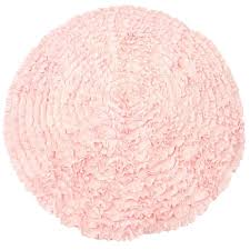 Light Pink Rugs For Nursery Light Pink Ruffles Nursery Rugs Made To Order Usually Ships In