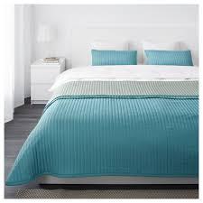 Ocean Bedspread Karit Bedspread And 2 Cushion Covers Queen King Ikea