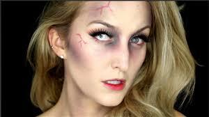 quick easy zombie makeup tutorial youtube