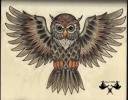 31 best owl tattoo flash art images on pinterest owl tattoos