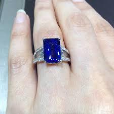 breathtaking tycoon cut tanzanite engagement rings pinterest