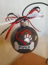 dog ornament personalized pet custom dog ornament