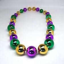big mardi gras mardi gras big necklace