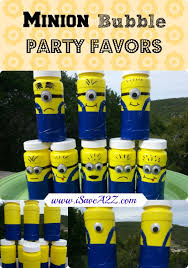 minion party favors minion party favors diy so and easy to put together