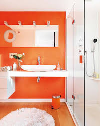 Guest Bathroom Decor Ideas Colors Best 25 Orange Bathrooms Ideas On Pinterest Orange Bathroom