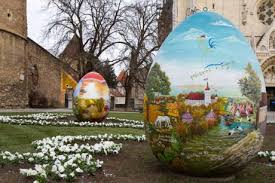 big easter eggs happy easter with a croatian tradition croatia the war and the