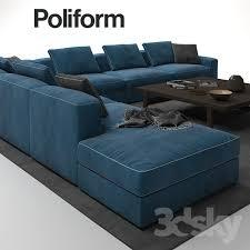Poliform Sofa 3d Models Sofa Poliform Dune Sofa