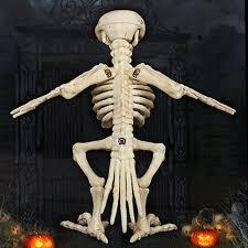 Halloween Decorations Skeleton Bones by Skeleton Raven Plastic Animal Skeleton Bones For Horror Halloween