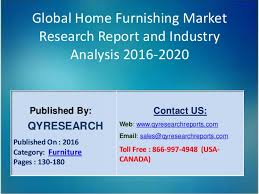 Home Decor Industry Global Home Furnishing Industry 2016 Market Growth Trends Analysis