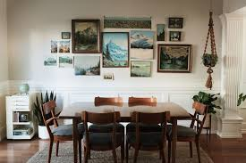 hang art how to hang unframed art architectural digest