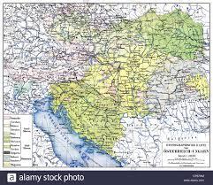Map Austria Map Austria Hungary Stock Photos U0026 Map Austria Hungary Stock