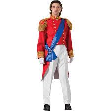 red prince charming costume storybook prince snow white prince