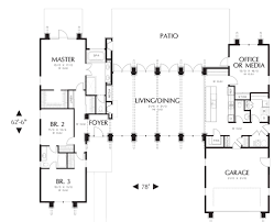House Plans With Pictures by Contemporary House Plan With 4 Bedrooms And 2 5 Baths Plan 5173
