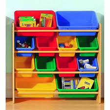 Kids Storage Shelves With Bins by Essential Home Kids 12 Bin Organizer