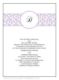 Free Wedding Samples Wedding Invitations Samples Free Download Free Printable Wedding