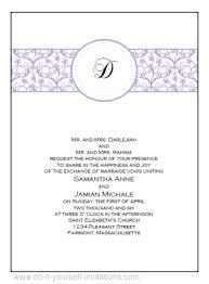 wedding invitations sles free free printable wedding