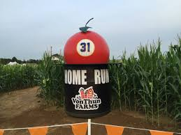 Pumpkin Picking Places In South Jersey by Mike Piazza Shaped Corn Maze Opens In South Brunswick South