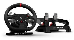 volante per xbox one mad catz pro racing feedback wheel and pedals for microsoft
