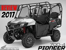 Honda Price List In Philippines 2017 Honda Pioneer Side By Side Model Lineup 1000 700 U0026 500 Reviews