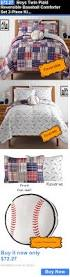 Kids Twin Comforter Set Twin Bed Baseball Sheets Home Beds Decoration