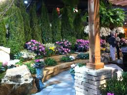 garden brick wall design ideas amish country rockome gardens arcola il places ive been pinterest