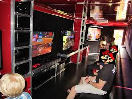 Building A Game Room - buy a game truck pre owned mobile game theaters used mobile game
