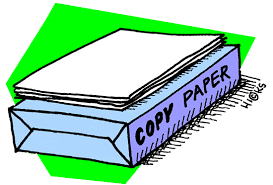 ream of copy paper clipart panda free clipart images