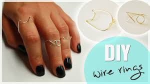 make wire rings images Diy wire midi rings cat xo ring wire ring tutorial jpg