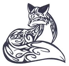 so and just cool at the same tribal fox design