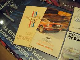 for sale original 1967 shelby owners manual and all 67 shelby