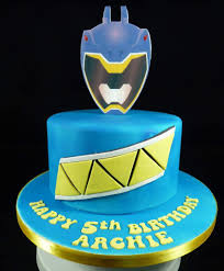 power rangers birthday cake strouhal on dino charge blue power ranger birthday