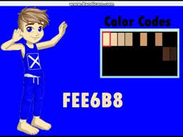 youtube color code woozworld skin color codes youtube