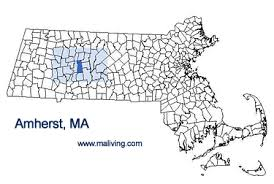 amherst map amherst ma amherst massachusetts lodging estate dining travel