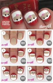 easy christmas nail art tutorial beauty 101 20 fabulous and easy