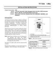 kohler 12res adc 2100 controller analog to digital converter