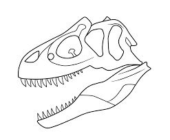dinosaur bones coloring pages getcoloringpages com