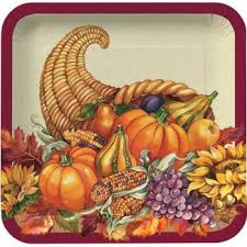 thanksgiving dinner paper plates bootsforcheaper