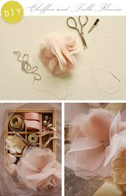 tulle flowers diy chiffon and tulle flowers home creature comforts daily