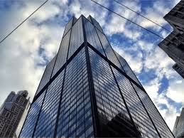 willis tower formerly sears tower chicago illinois looking up