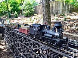 Family Garden Trains Garden Exhibits The North Carolina Arboretum