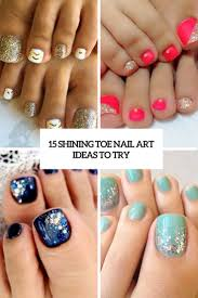 15 shining toe nail art ideas to try styleoholic