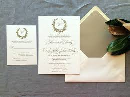 customized wedding invitations monogrammed wedding invitations simplo co