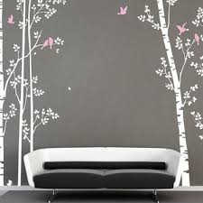 White Tree Wall Decal For Nursery Tree Wall Decal Nursery Wall Decal Wall From Iwalldecals On Etsy