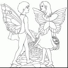 spectacular fairies coloring pages printable with fairy