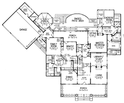 Home Floor Plans 5000 Square Feet Craftsman Style House Plan 4 Beds 4 5 Baths 5000 Sq Ft Plan 952