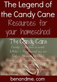 legend of the candy j is for jesus the legend of the candy homeschool resources