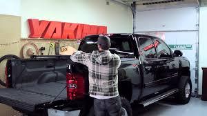 nissan frontier bed rack yakima bedrock truck bed rack installation youtube