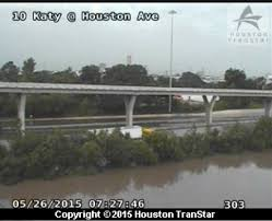 Houston Transtar Traffic Map In Moments Interstate 45 Became A River Flooded Roads Rivers
