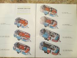 Airstream Travel Trailers Floor Plans by Interior Dimensions 1966 Safari Twin Airstream Forums